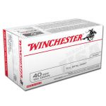 Winchester 40 S&W 165GRN FMJ-FN 100RD Value Pack UPC #: 020892213654 MFG # : USA40SWV ( 100 )